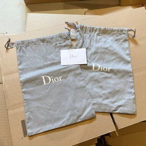 DIOR shoes dust bag